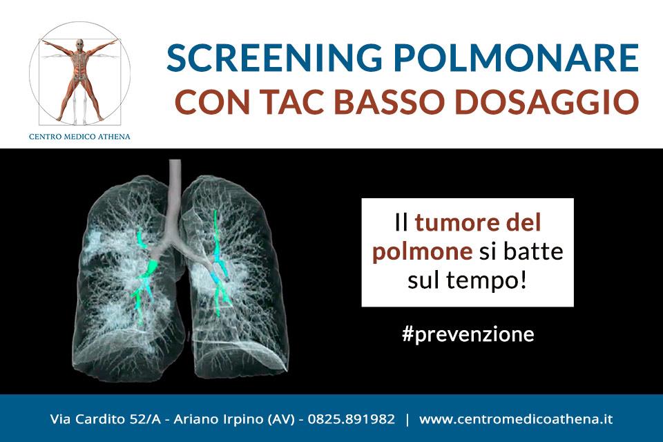 Screening polmonare con tac a basso dosaggio. ad Ariano Irpino, Avellino